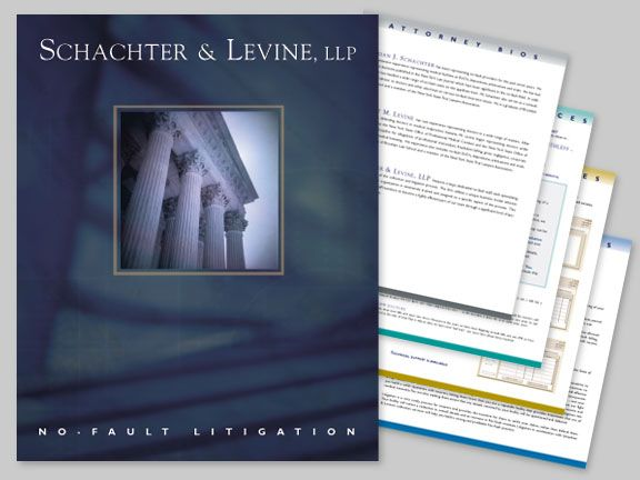 Schachter and Levine Law Firm - Brochure and Press Kit