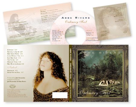 Abbe Rivers - CD Package Design