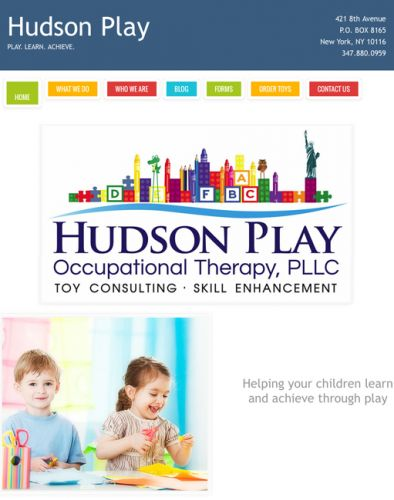 Hudson Play Occupational Therapy