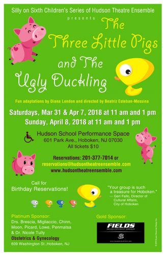 The Three Little Pigs and The Ugly Duckling performed in Hoboken