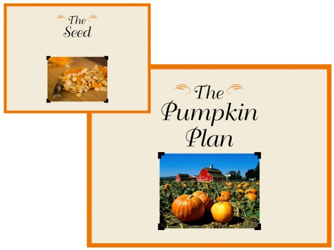 PowerPoint slidedeck for Mike Michalowicz's The Pumpkin Plan on Broadcast Louder webinar series.