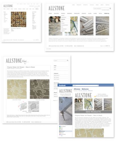 Allstone Branding, Print marketing and Web Presence