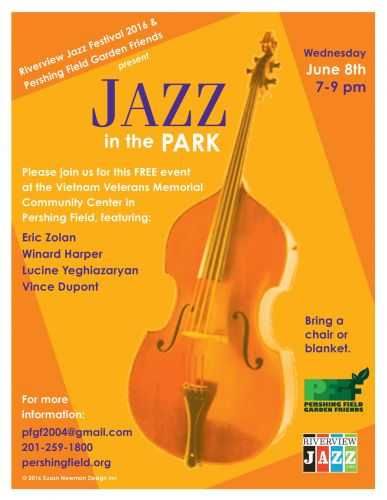 Jazz in the Park - Pershing Field event - Jazz Fest Week 2016