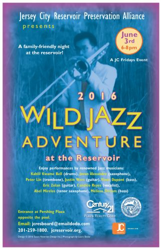 Wild Jazz Adventure at the Jersey City Reservoir 2016