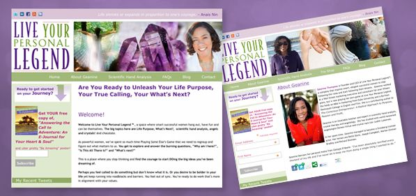 Live Your Personal Legend - Geanine Thompson