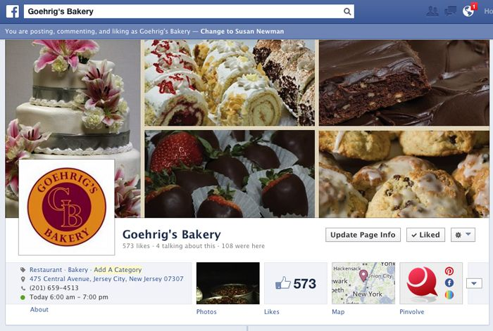 Goehrig's Bakery on Facebook