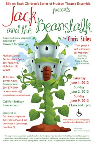 Jack and the Beanstalk poster design