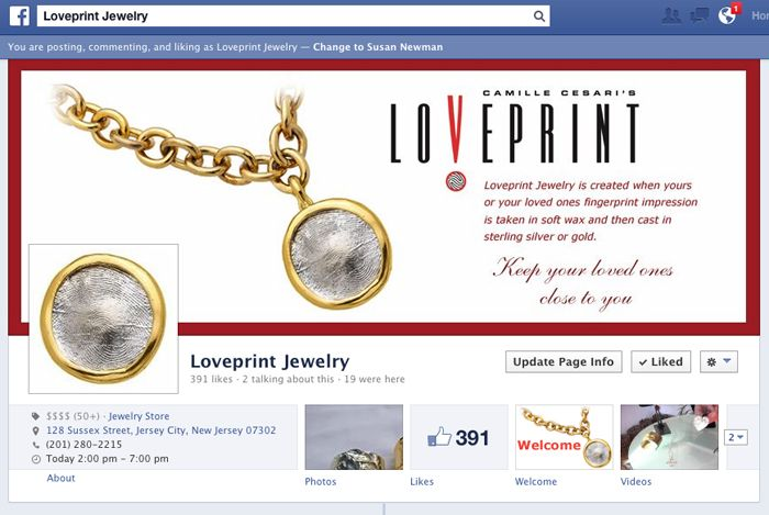 Loveprint on Facebook