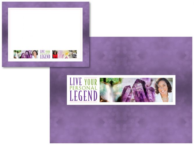 PowerPoint design for Live Your Personal Legend with Geanine Thompson