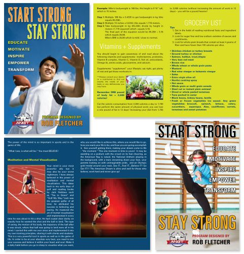 Start Strong, Stay Strong Youth Program by Rob Fletcher, ANGT - Manual Design by Susan Newman