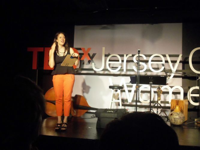 Caley Vickerman of TEDx Jersey City.