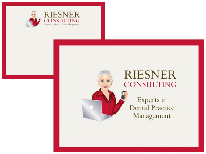 PowerPoint design for Riesner Consulting - Experts in Dental Practice Management
