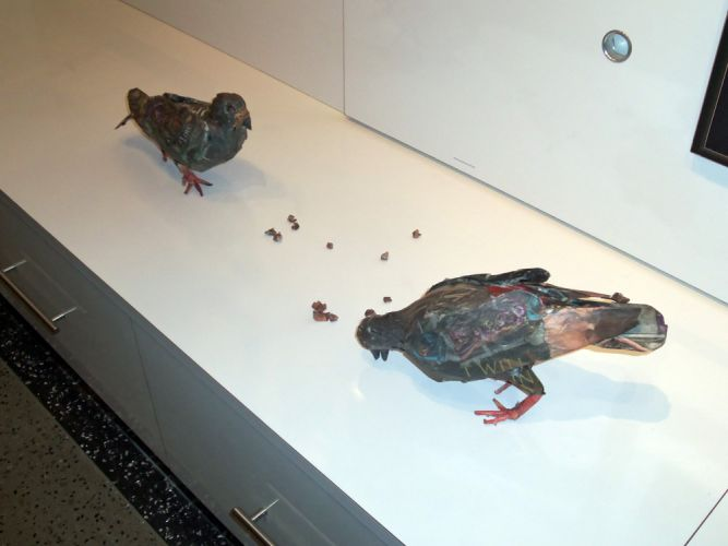 pigeons-papier-mache-whotel-gallery-opening