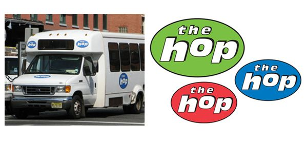 The Hop transportation identity for Hoboken, NJ