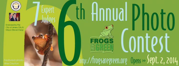 6th Annual photography contest hosted by Frogs Are Green