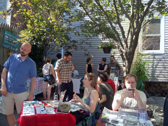 Brooklyn, NY - Pete's Mini Zine Fest July 2015.