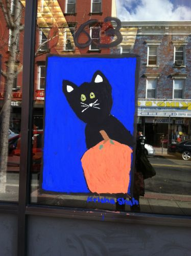 jersey-city-heights-halloween-paintings-2015-cat