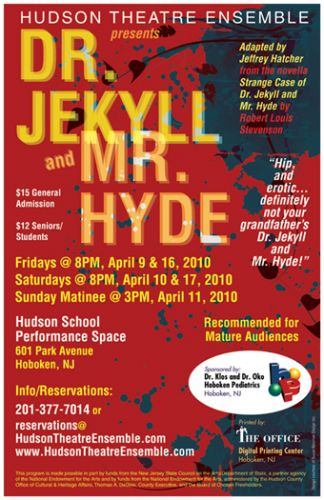 Dr. Jekyll and Mr. Hyde poster design