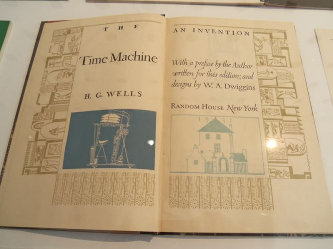 time machine - h.g. wells at AIGA