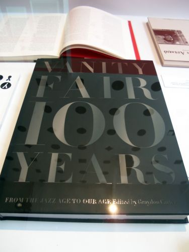 Vanity Fair 100 years book at AIGA