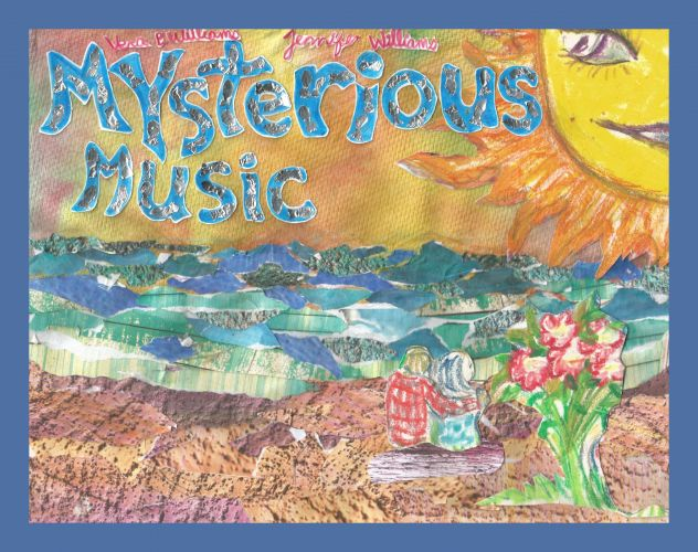 Mysterious Music by Vera Williams and Jennifer Williams, 8 page prototype for forthcoming picture book designed by Susan Newman Design