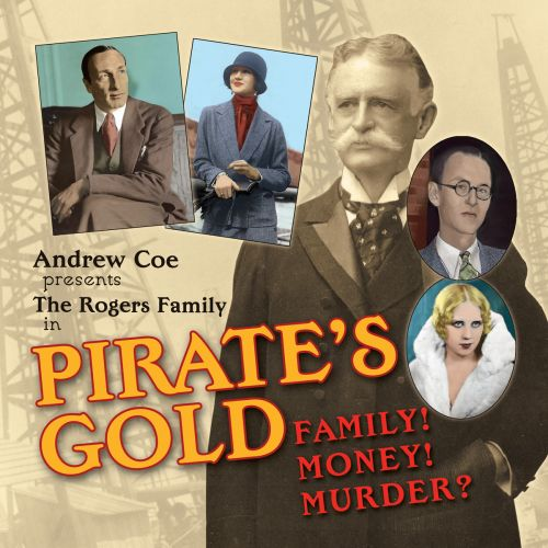 Pirate's Gold by Andrew Coe - book cover and interior book design by Susan Newman Design